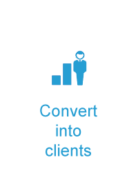 Reach expats | Convert into clients