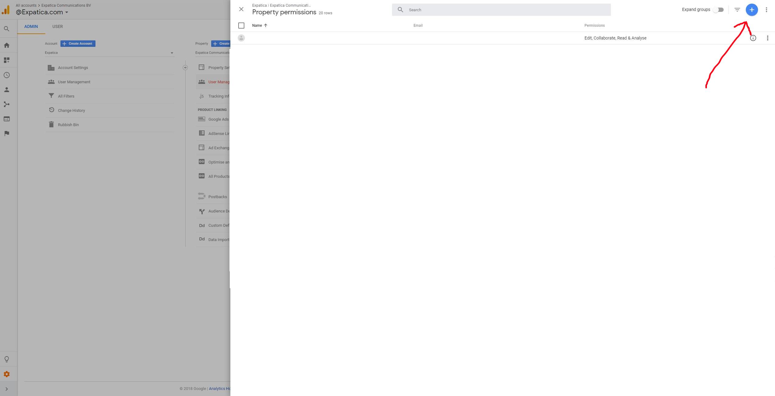 access Google Analytics step 4